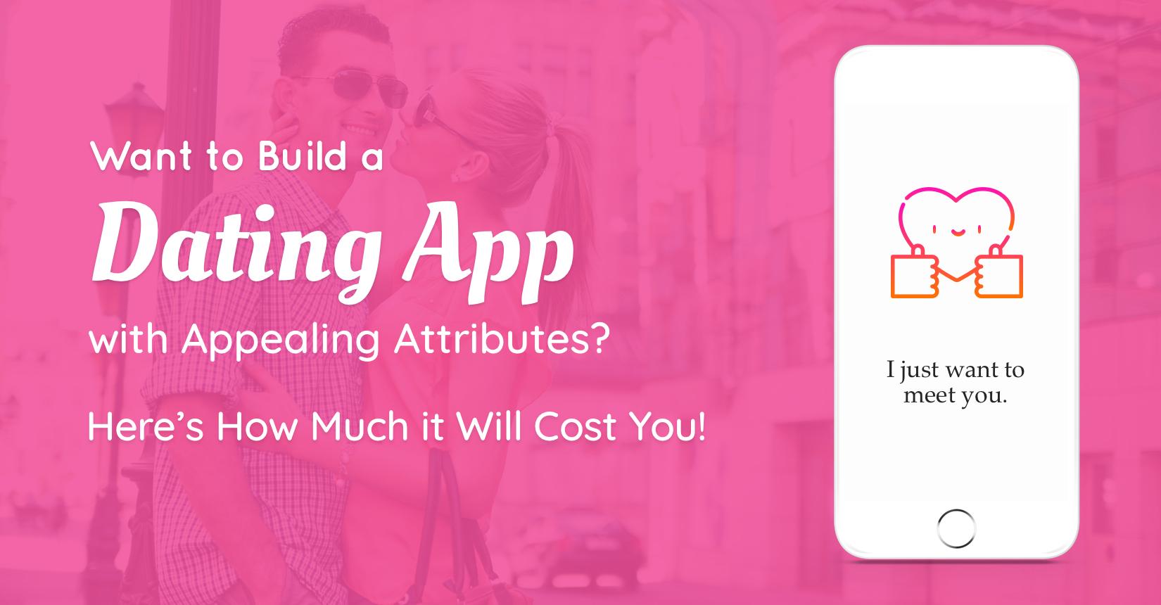 开发约会应用需要多少费用?