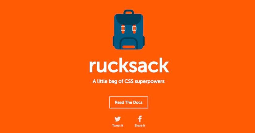 背包–新的CSS开发工具