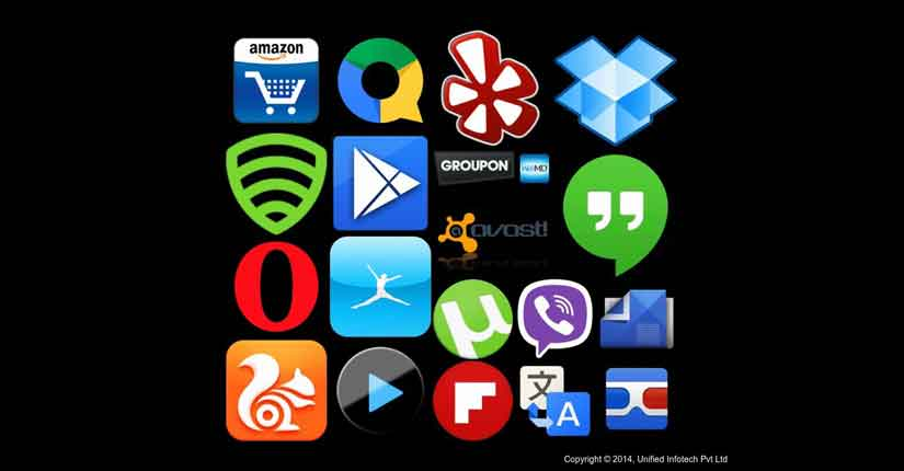 20个最新的Android应用程序统治在线广告牌