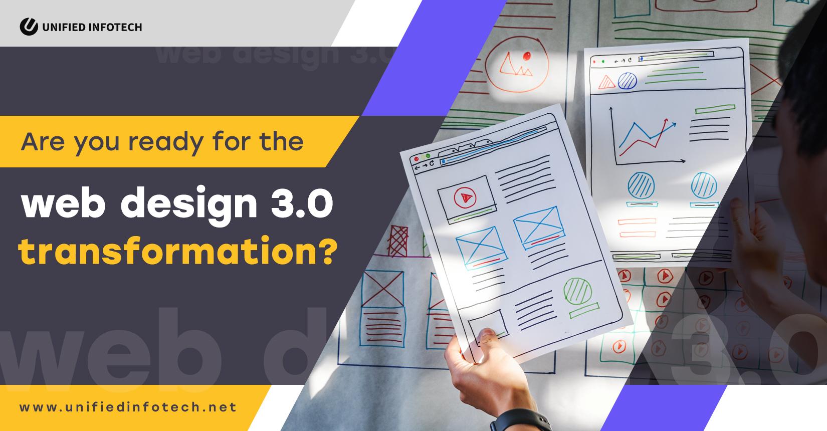 Web Design 3.0在这里:您准备好进行转换了吗?