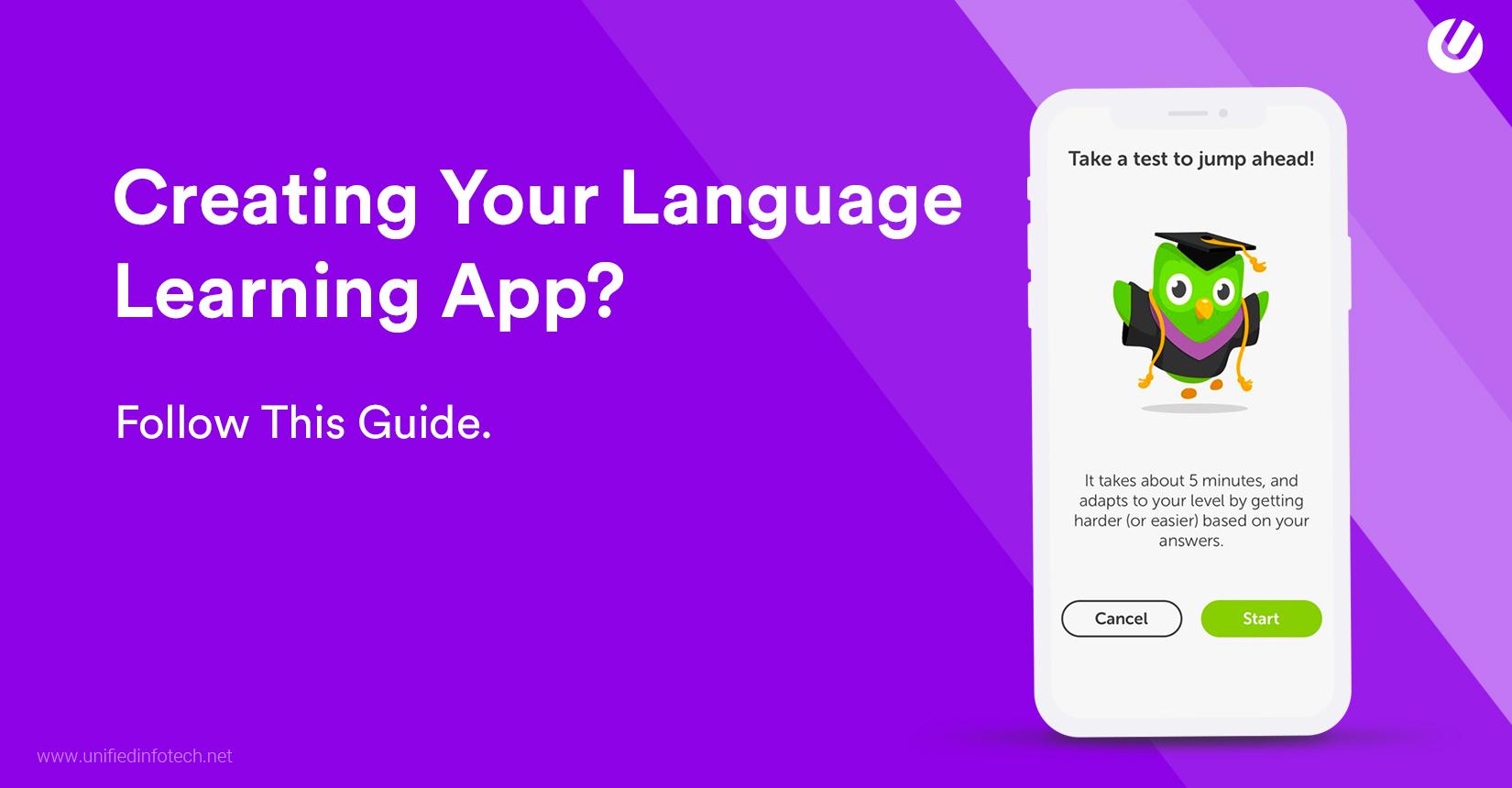 如何创建语言学习应用程序?我们发现了!