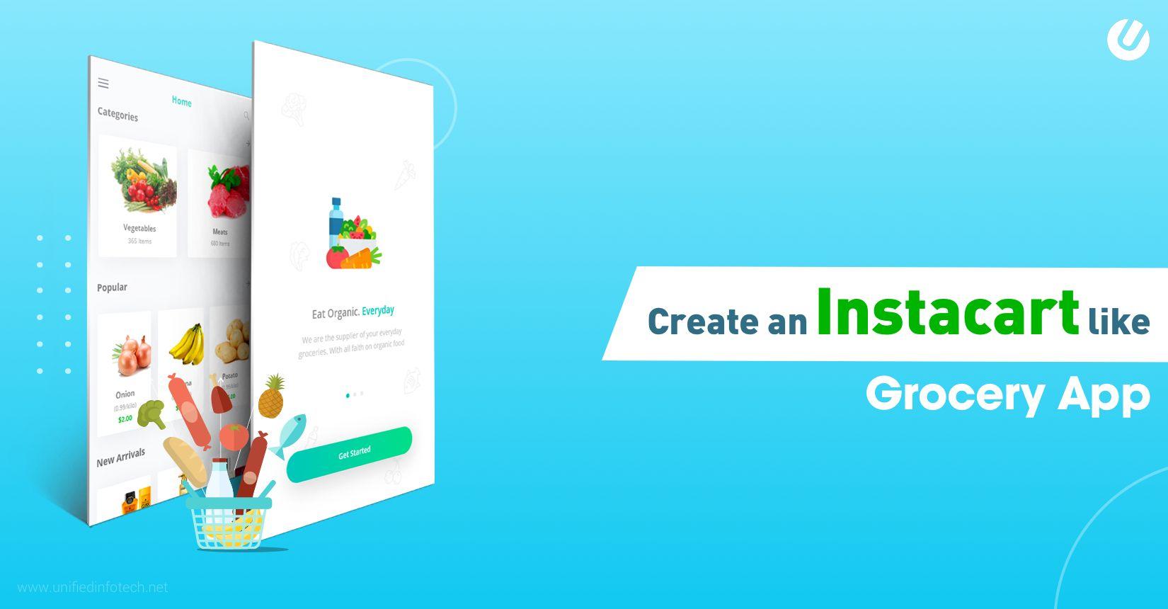 构建像 Instacart/Grofers 这样的杂货应用程序的 7 步指南